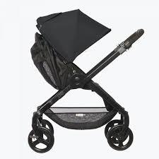 180 Reversible Baby Stroller Black Stroller Ergobaby