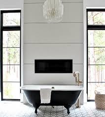 modern vintage master bathroom reveal