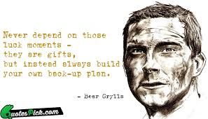 Bear Grylls Quotes with Picture | Bear Grylls Sayings @ Quotespick.com via Relatably.com