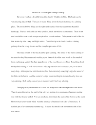 my favorite place essay beach whats a descriptive essay  hd image of descriptive essay beach descriptive essays about the beach romeo my favorite place