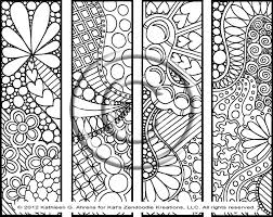 Small Picture Abstract Heart Coloring Pages Instant Pdf Download Coloring