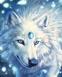 <b>White Wolf DIY Diamond</b> Painting Embroidery 5D Cross Stitch ...