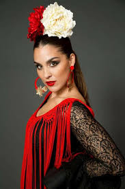 image result for chelo alonso beauty flamenco hair style and mexican hair