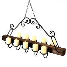 led candle chandelier candle chandelier rustic hanging led diy led candle chandelier