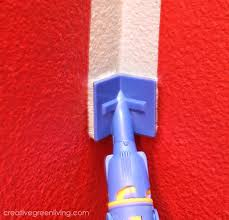 this makes painting inside corners on walls just as easy as all the straight lines you just cut in