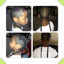 Braids For Little Black Girl Hair Style fish tails little girl hairstyles braids protective 5666 by stevesalt.us