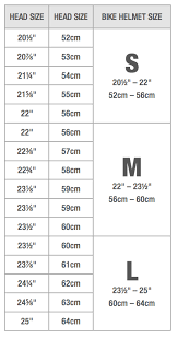 Kryptonics Helmet Size Chart Bike Helmet Sizing Helmet Size Chart Follow These Easy