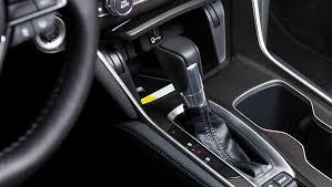 image of 2018 honda accord leather and chrome shift knob