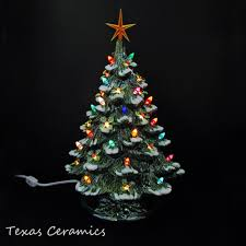 Gorgeous EXTRA Huge 26Ceramic Tabletop Christmas Tree With Lights