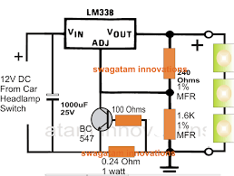 automotive led wiring diagram automotive image white led driver circuit diagram ireleast info on automotive led wiring diagram
