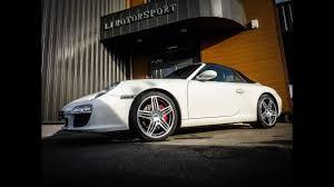 Jantes Porsche 997 Sport Design Porsche 911 997 S Cab