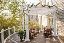 Deck Furniture Pergolas and Outdoor Kitchens