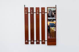 Mirror With Coat Rack MidCentury Rosewood Coat Rack with Mirror Amsterdam Modern 33