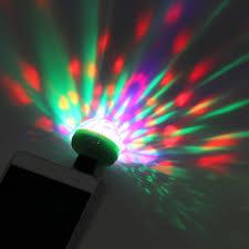 Mini Disco Ball Decorations Mini 100 LED Disco Ball USB Powered Stage Light RGB Stage Decoration 59