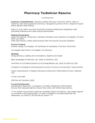 Pharmacy Tech Resume Template Classy Pharmacy Tech Resume Summary Legalsocialmobilitypartnership