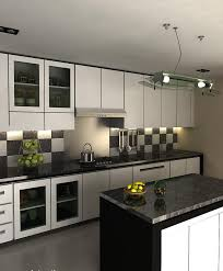 full size of interior design black and white kitchen modern designs ideas photos inside 6