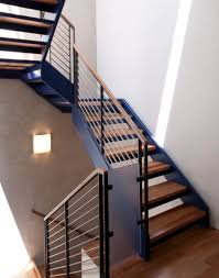 Surprising Modern Stair Rails 22 On Best Interior with Modern Stair Rails