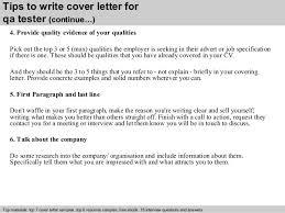 Qa Tester Cover Letter Sample Cvfree Pacificsanitation Co