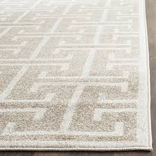 safavieh amherst collection amt404s wheat and beige indoor outdoor area rug 9 x