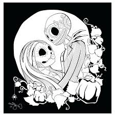 Nightmare Before Christmas Coloring Pages Oogie Boogie Free