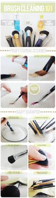 makeup how to properly wash your brushes