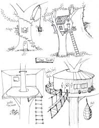 how to draw a treehouse step by step. Fine Draw Draw_tree_house_by_diana_huangd87cqi4jpg 10241330 For How To Draw A Treehouse Step By H