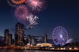 2019 Fireworks Schedule Weekly Fireworks In Chicago Navy Pier