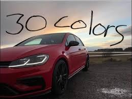 2018 volkswagen golf canada.  golf 2018 vw golf r 30 colors good news bad news with volkswagen golf canada
