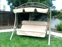 patio swing bed with canopy garden porch swings chair reclining double hanging outdoor diy