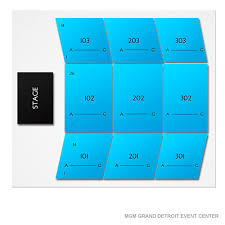 Grand Event Center Seating Chart Mgm Arena Seating Map Mgm Grand Arena 3d Seating Chart Mgm
