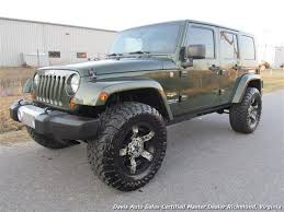 2008 jeep wrangler unlimited sahara 4x4 4 door photo 1 richmond va 23237