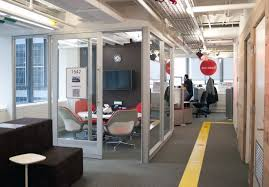 google office cubicles. one of the themed floors in googleu0027s new and improved offices toronto source patrick ou0027rourkepostmedia news google office cubicles e