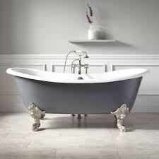 lena cast iron clawfoot tub monarch imperial feet dark gray new bathtubs bathtubs bathroom
