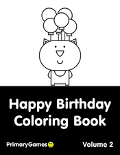 This princess is here to wish you a very happy birthday! Happy Birthday Coloring Pages Free Printable Pdf From Primarygames