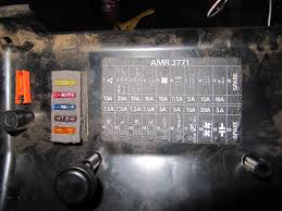 fuse box diagram help landyzone land rover forum the fusebox looks the same as yours except you have one more yellow relay than i do