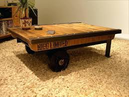 cart coffee table industrial toronto camel uk plans