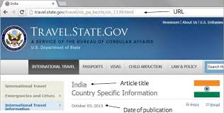 How To Cite A Website Article In Apa Easybib Blog