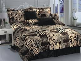 dazzling ideas brown king size comforter set leopard print full bed twin animal captivating 26 kitchen