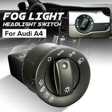 New Front Rear Fog Light Headlight Switch For Audi A4 8e B6