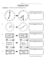 Resources | Math | Telling Time | Worksheets