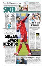 Günün spor manşetleri (19 Temmuz 2021)