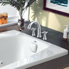 deck mount tub tub fillers deck mounted bathtub faucet with cross handles polished chrome delta deck