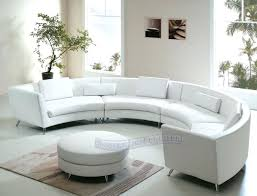 circular sectional sofa large size of couches and curved sofas sectionals half round uk
