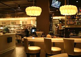 commercial hospitality interior lighting design of grand street cafe kansas city cafe lighting design
