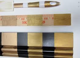 Three Golds Comparing Rub N Buffs Gold Finishes Fig