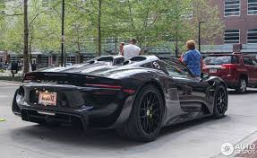 porsche 918 spyder black. porsche 918 spyder weissach package black e