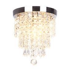 Dellemade Mini 1 Licht Kristall Kronleuchter Modern Deckenleuchte Für Treppenhaus Bar Küche Esszimmer Kinderzimmer 22cm