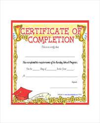 Sunday School Certificate Template 5 Free Word Excel Pdf