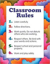 School Safety Rules Chart Classroom Rules Cheap Chart School Specialty Publishing