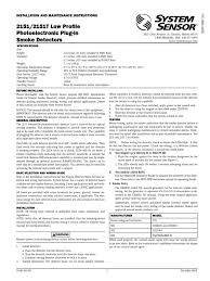 system sensor t installation manual